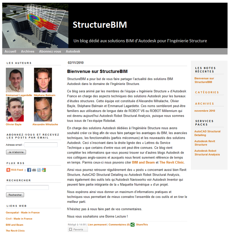 StructureBIM Screen Capture