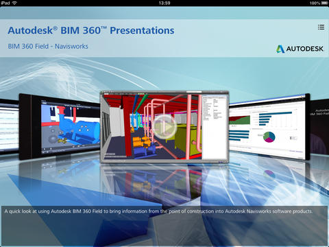 Presentations of Autodesk BIM 360