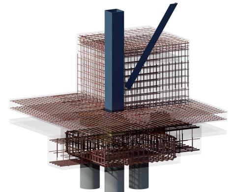Bim Amp Beam Rebar Projects In Revit