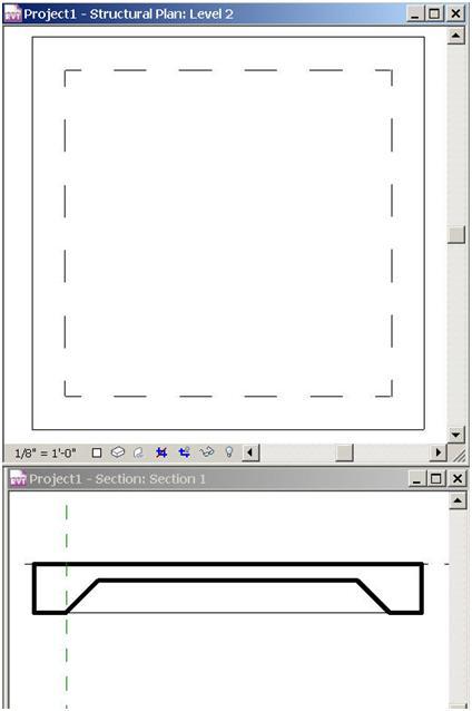 BIM & BEAM: Slab Edge Hidden Lines Display